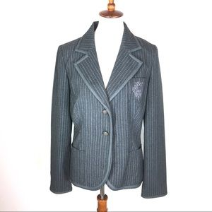 BB Dakota School Boy Pinstripe Blazer